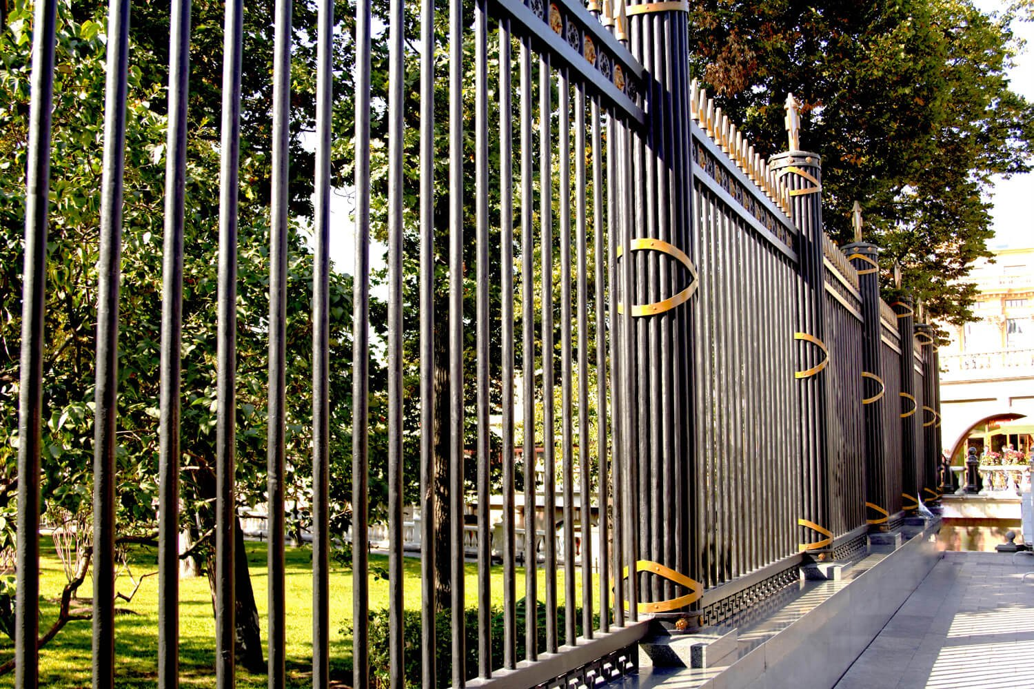 Custom Wrought Iron Fencing